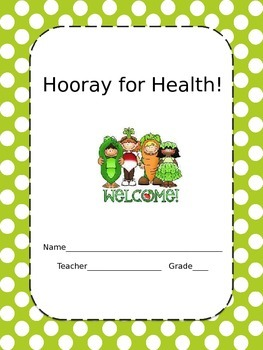 Hooray for Health!  folder cover