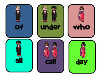 Hooray for Hollywood Game: Grade 1 Wonders Words to Know Unit 2 Game