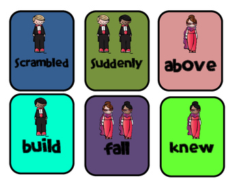 Hooray for Hollywood Game: Grade 1 Wonders Words to Know Unit 5 Game