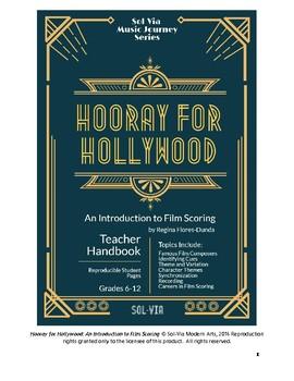 Hooray for Hollywood: No Prep Teacher Handbook on Film Scoring for Grades 6-12