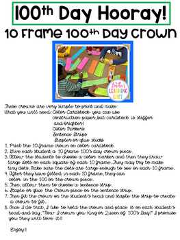 Hooray for Hundreds Day! 4 Activities to Use for a 100's Day Celebration