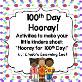 Hooray for Hundreds Day! 4 Activities to Use for a 100's D