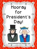 First Grade Social Studies: President's Day