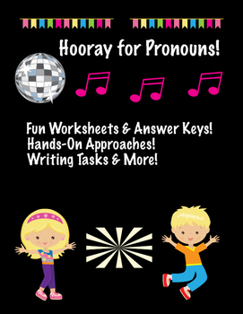 Pronouns Literacy Packet