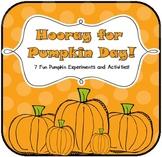 Hooray for Pumpkin Day! {Science Experiment & Math Activities}