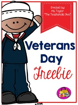 Hooray for Veterans Day!