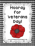 First Grade Social Studies: Veterans Day