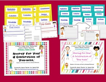 """Hooray for You! A Celebration of """"You-ness"""" Higher Order Thinking Skills"""