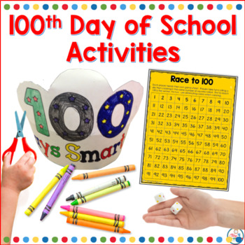 Hooray for the 100th day, Time4Kindergarten, Celebrate the 100th day of school