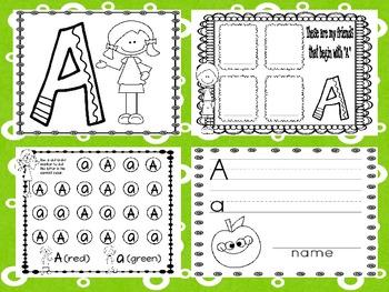 Alphabet! (10 Letter A) Alphabet Recognition Activities
