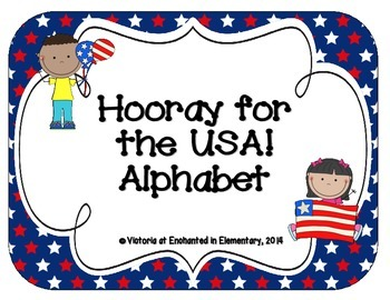 Hooray for the USA! Alphabet Cards