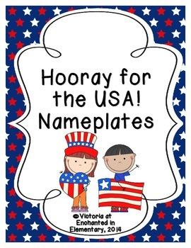 Hooray for the USA! Nameplates