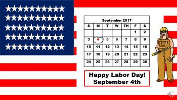 Hooray it's Labor Day Power Point