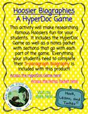 Hoosier Biographies - A HyperDoc Game