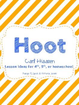 Hoot (Carl Hiaasen) Novel Study