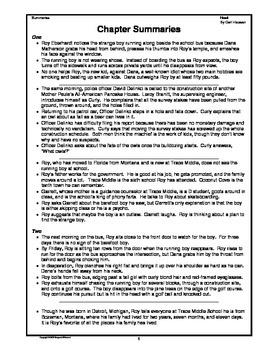 Hoot Novel Study Guide