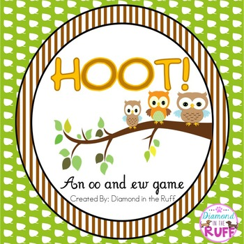 An oo and ew game