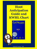 Hoot Anticipation Guide and KWHL Chart