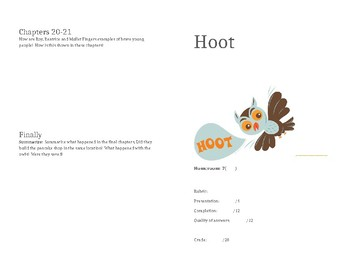 Hoot Booklet