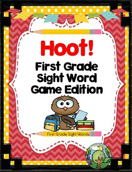Hoot -- First Grade Sight Word Game Edition