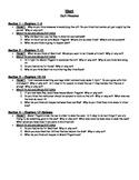 Hoot (Hiaasen) -- Novel Study