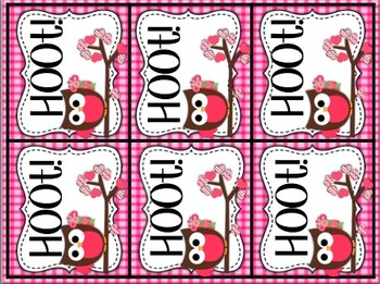 Hoot Hoot!: A small group extension activity for short/long vowels