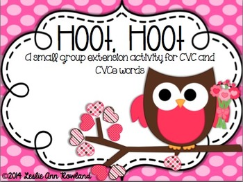 Hoot Hoot!: A small group extension activity for short/lon