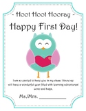 Hoot Hoot Hooray, Happy First Day!