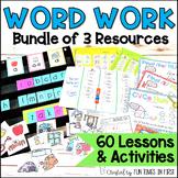 Word Study Bundle : Activities for First Grade Word Work