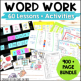 Words Their Way Activities Bundle
