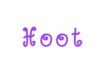 Hoot Hoot HorraySign