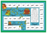 Hoot Hoot - Long and Short /oo/ Sound Board Game
