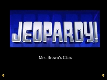 Hoot Jeopardy