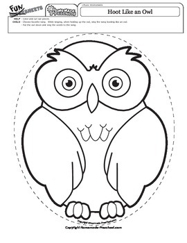 Hoot Like an Owl Music Time