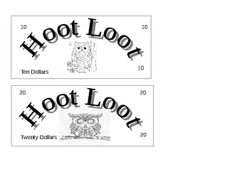 Hoot Loot Owl Money