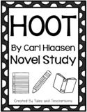 Hoot by Carl Hiaasen Novel Study
