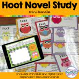 Hoot Novel Study | Mini BUNDLE