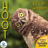 Hoot Novel Study Book Unit