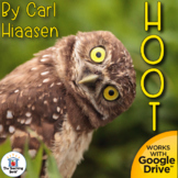 Hoot Novel Study Book Unit
