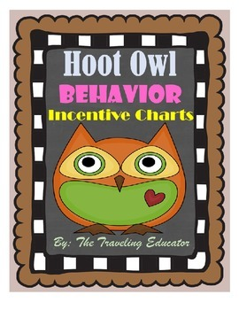 Incentive Chart with a Hoot Owl Theme