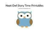 Hoot Owl Story Time Printables