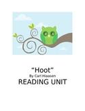Hoot Reading Unit