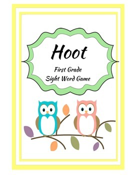 Hoot Sight Word Game