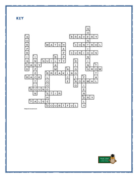 Hoot: Synonym/Antonym Crossword—Use with Bookmarks Plus!