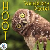 Hoot Vocabulary Packet