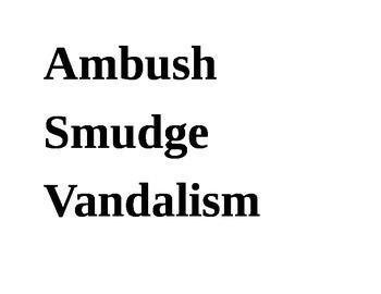 Hoot Vocabulary Word Wall