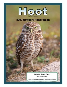 Hoot     Whole Book Test