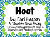 Hoot by Carl Hiaasen - A Complete Novel Study!