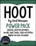 Hoot Novel Study Bundle (Distance Learning)