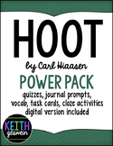 Hoot Novel Study Bundle